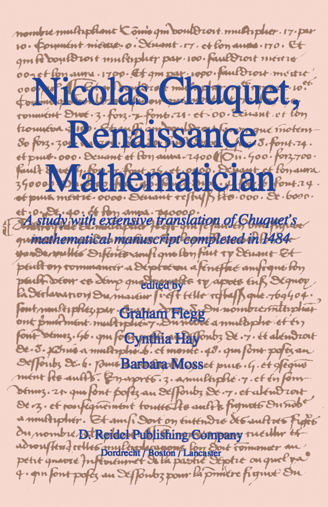 Nicolas Chuquet, Renaissance Mathematician als Buch