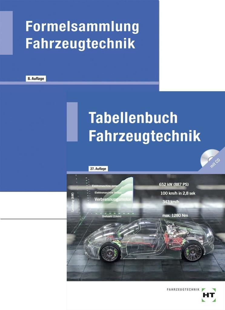Tabellenbuch Fahrzeugtechnik / Formelsammlung Fahrzeugtechnik als Buch