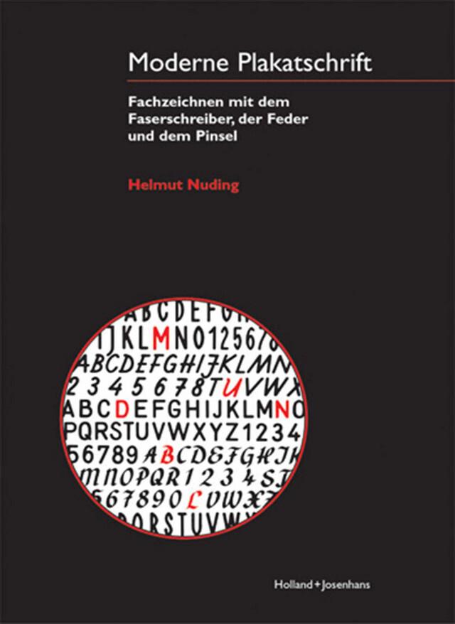 Moderne Plakatschrift als Buch