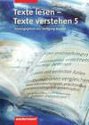 Texte lesen, Texte verstehen 5. Arbeitsheft