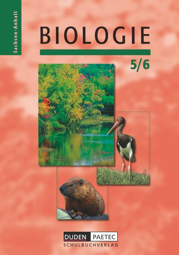 Biologie 5/6 Sachsen-Anhalt als Buch
