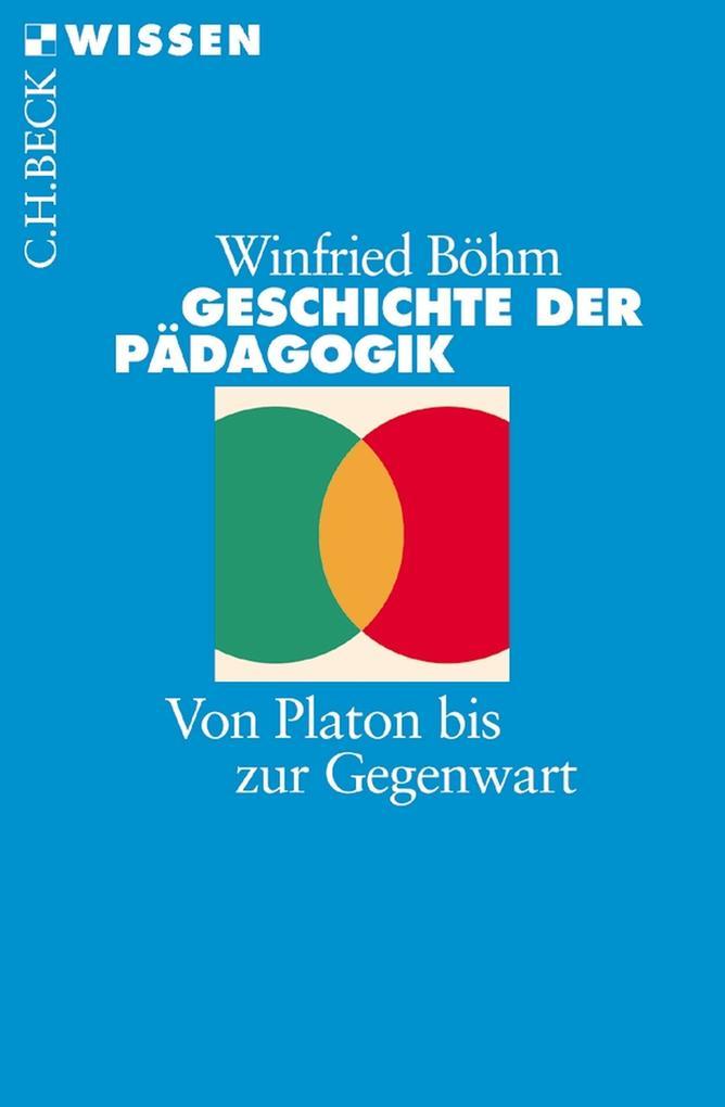 Geschichte der Pädagogik als eBook
