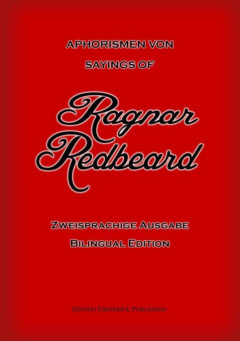 Aphorismen von Ragnar Redbeard als Buch