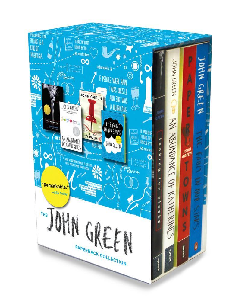 John Green Box Set. 4 Volumes als Taschenbuch von John Green