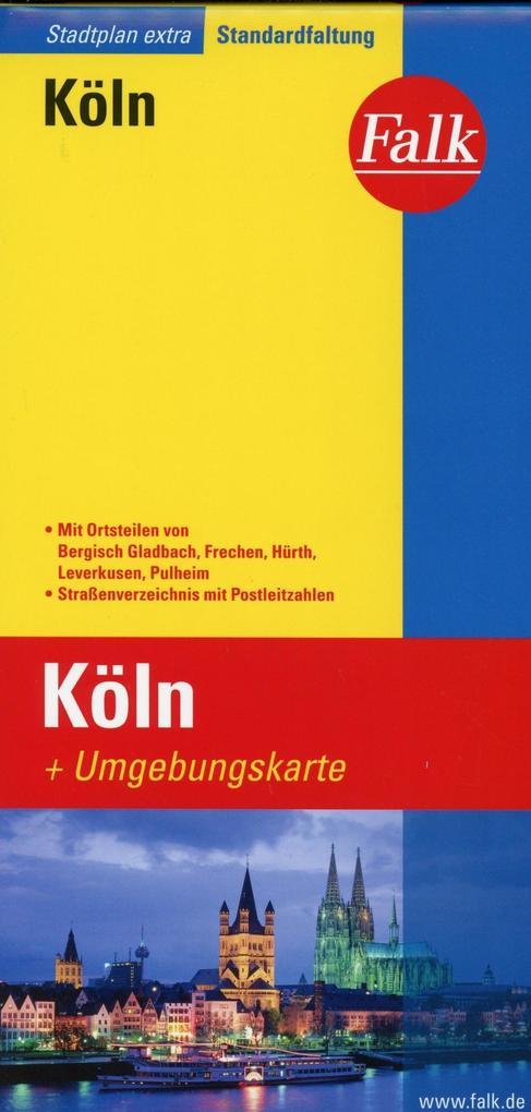 Falk Stadtplan Extra Standardfaltung Köln 1 : 20 000 als Buch