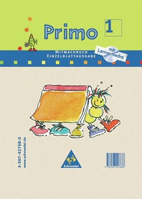 Primo Fibel Mitmachbuch 1 mit CD-ROM. Baden-Württemberg, Bremen, Hamburg, Hessen, Niedersachsen, Nordrhein-Westfalen, Rheinland-Pfalz, Saarland, Schleswig-Holstein als Buch