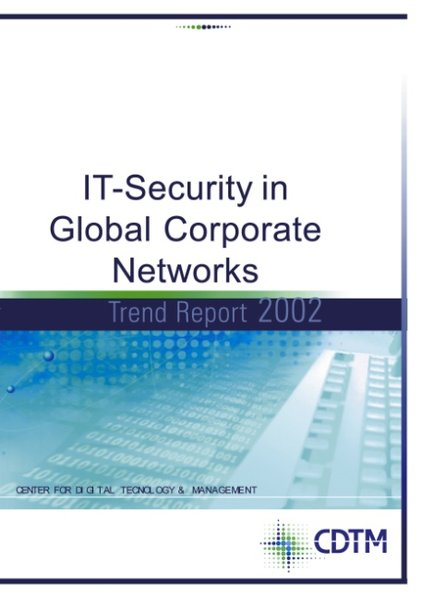 IT- Security in Global Corporate Networks als Buch