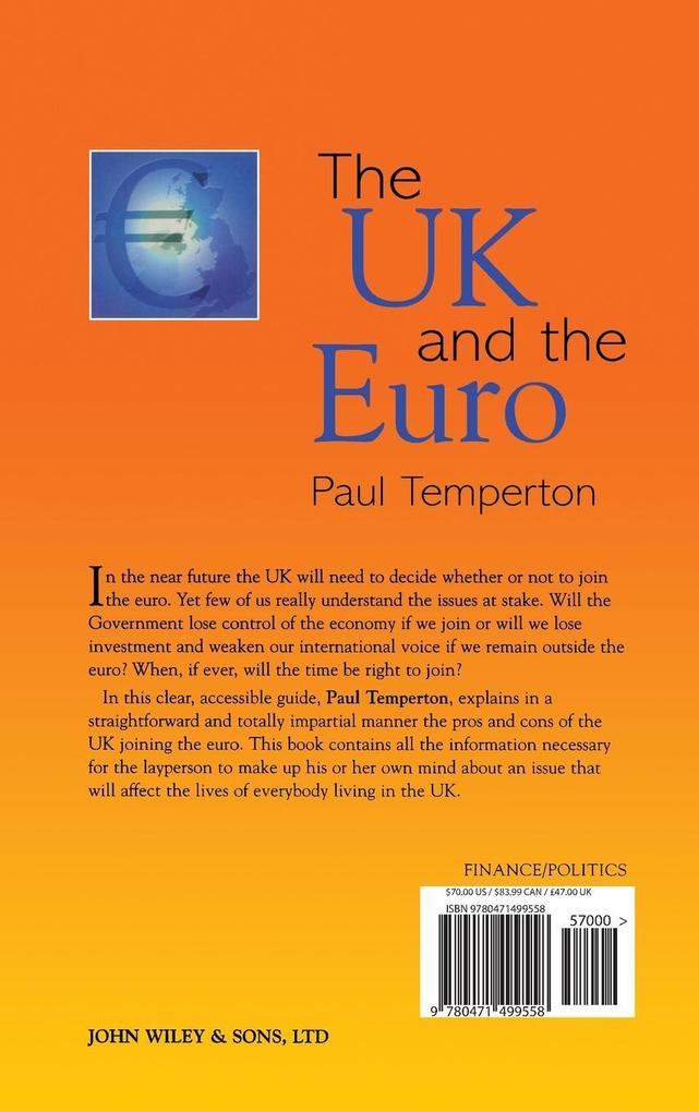 The UK and the Euro als Buch