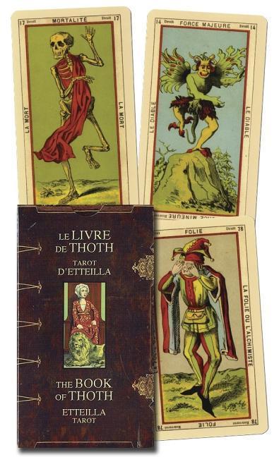 Book of Thoth - Etteilla Tarot als Spielwaren