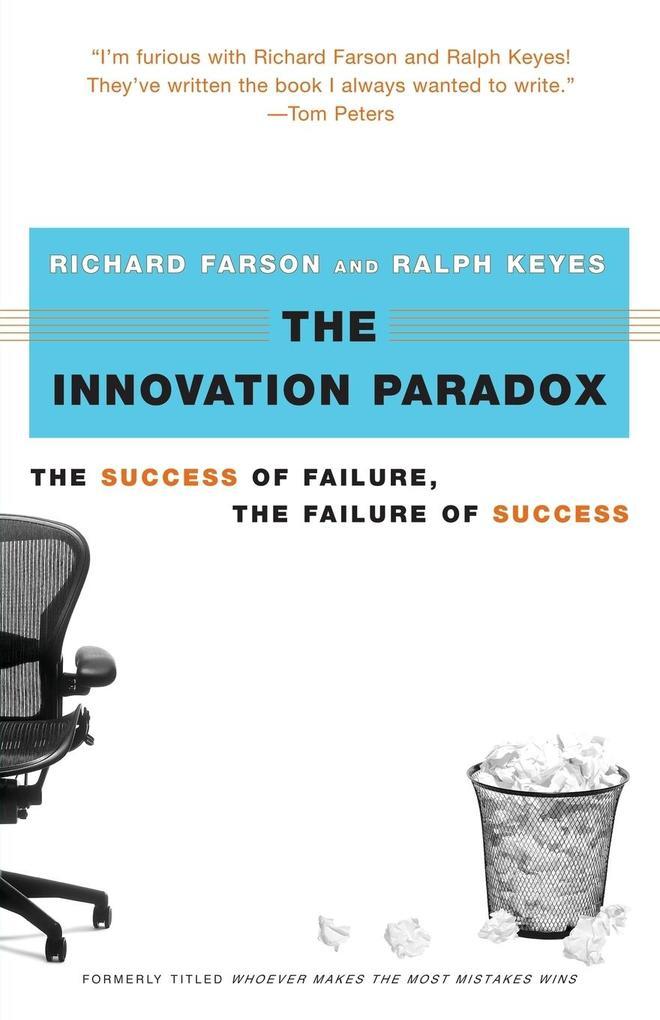 The Innovation Paradox als Taschenbuch