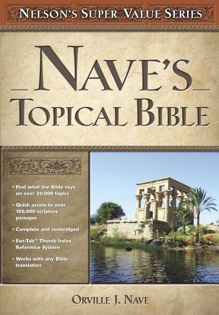 Nave's Topical Bible als Buch