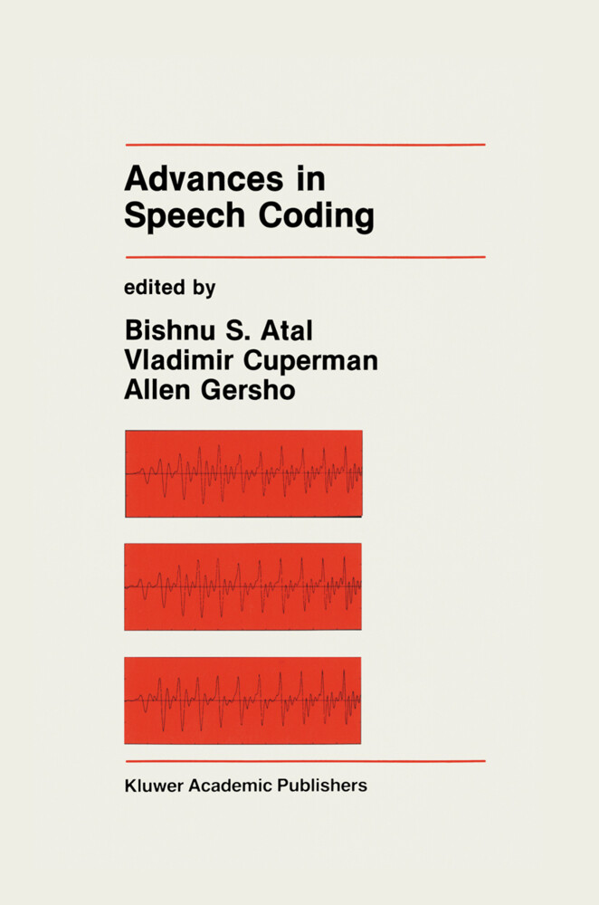 Advances in Speech Coding als Taschenbuch