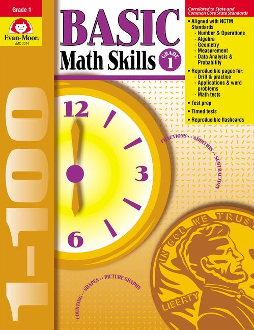 Basic Math Skills Grade 1 als Taschenbuch