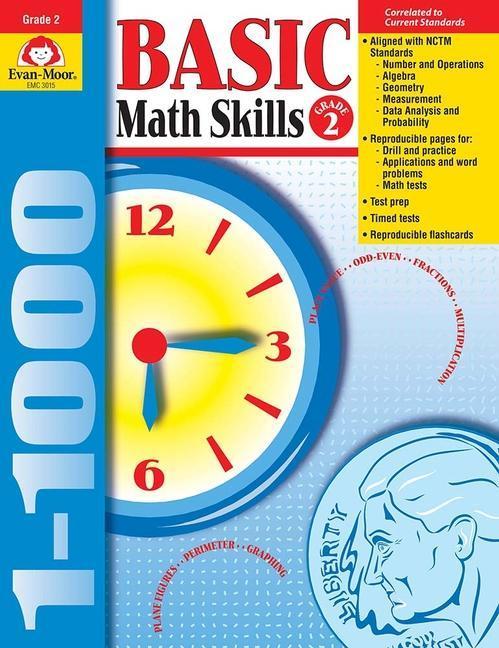 Basic Math Skills Grade 2 als Taschenbuch