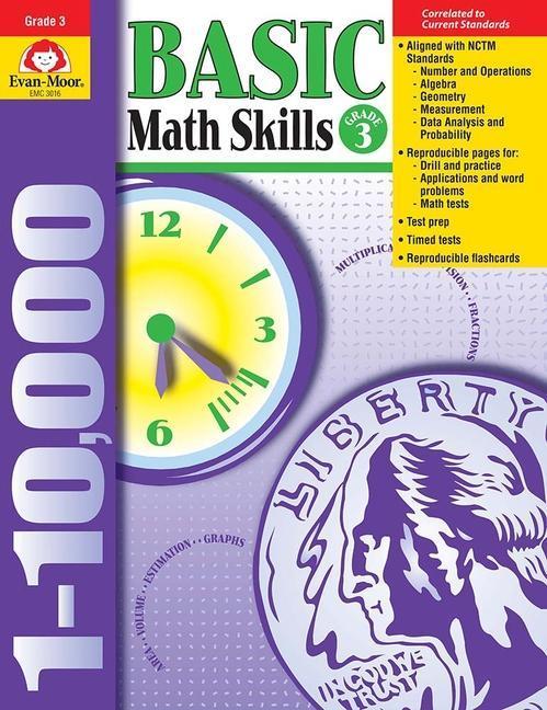 Basic Math Skills Grade 3 als Taschenbuch
