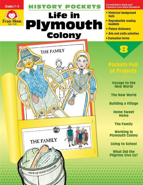 History Pockets, Life in Plymouth Colony als Taschenbuch