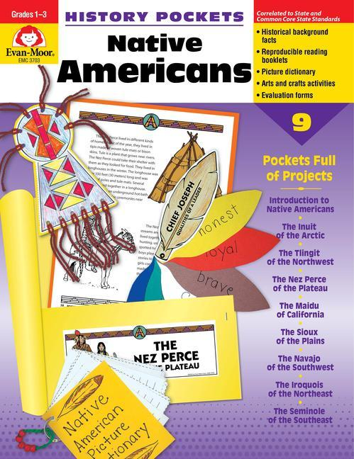 History Pockets, Native Americans als Taschenbuch