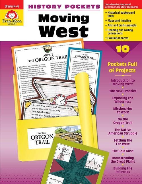 History Pockets, Moving West als Taschenbuch