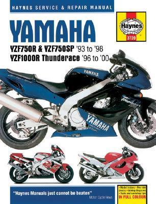 Yamaha Yzf750r, Yzf750sp, and Yzf1000r Thunderace Service and Repair Manual als Taschenbuch