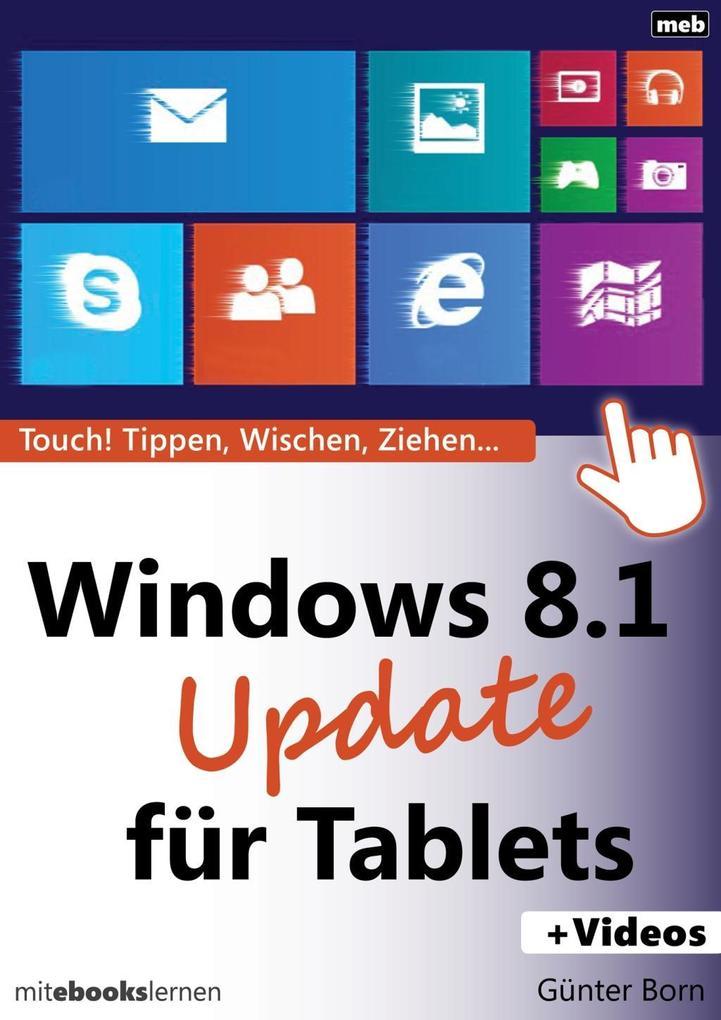 Windows 8.1 Update für Tablets als eBook