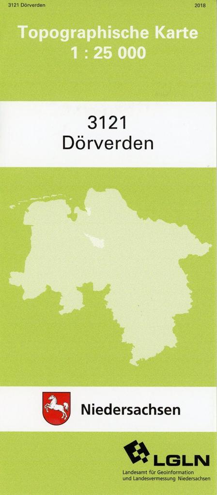 Dörverden 1 : 25 000 (TK 3121/N) als Buch