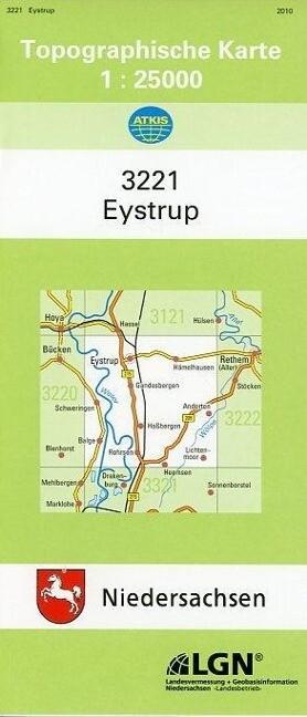 Eystrup 1 : 25 000. (TK 3221/N) als Buch