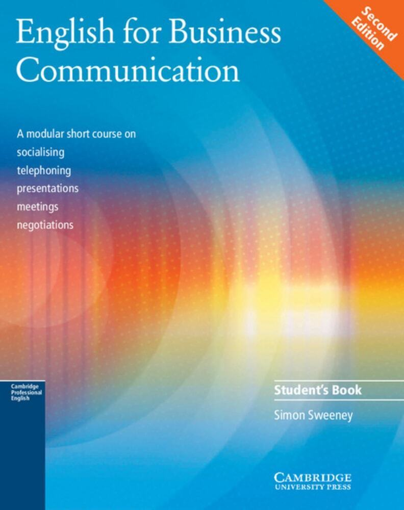 English for Business Communication. Student's Book als Buch