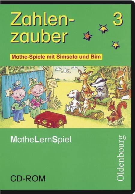 Zahlenzauber 3. Mathe-Spiele mit Simsala und Bim. CD-ROM als Software