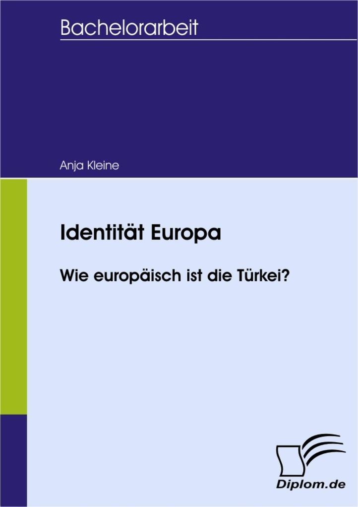 Identität Europa als eBook