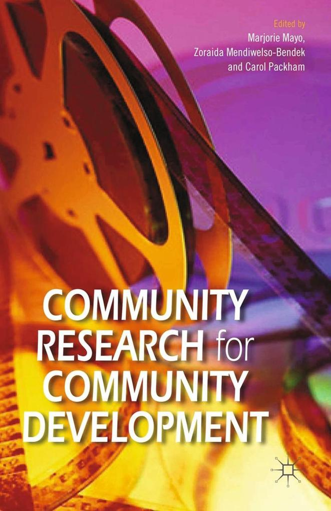 Community Research for Community Development al...