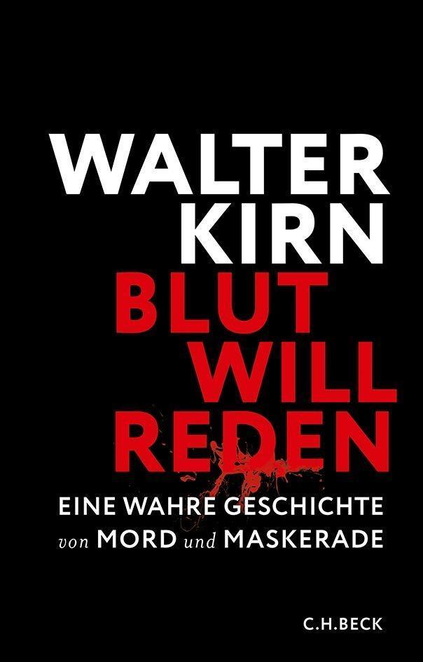 Blut will reden als Buch von Walter Kirn