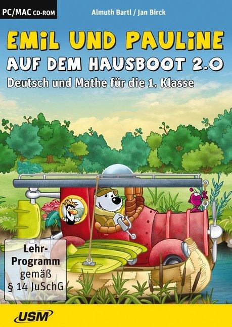 Emil und Pauline auf dem Hausboot 2.0. Deutsch und Mathe für die 1. Klasse als Software