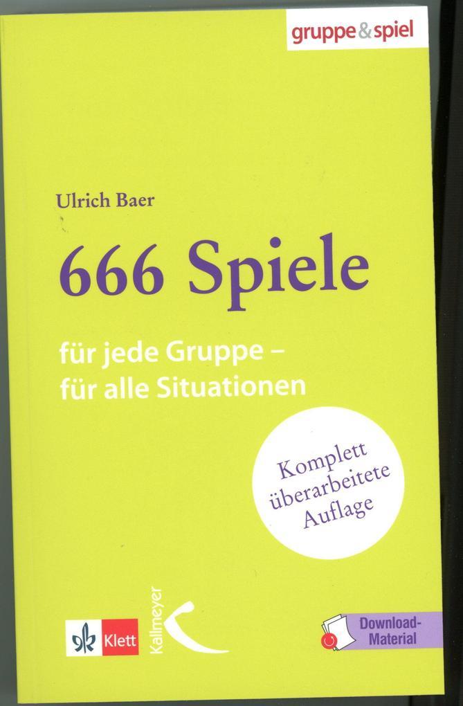 666 Spiele als Buch (gebunden)
