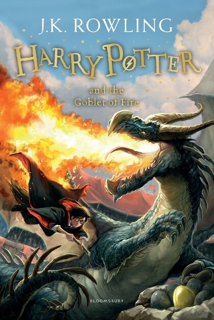 Harry Potter 4 and the Goblet of Fire als Taschenbuch
