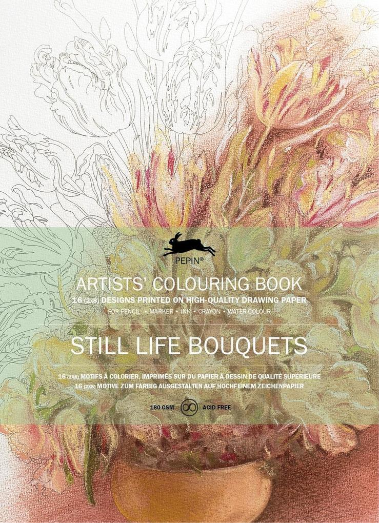 Still Life Bouquets als Buch von Pepin van Roojen
