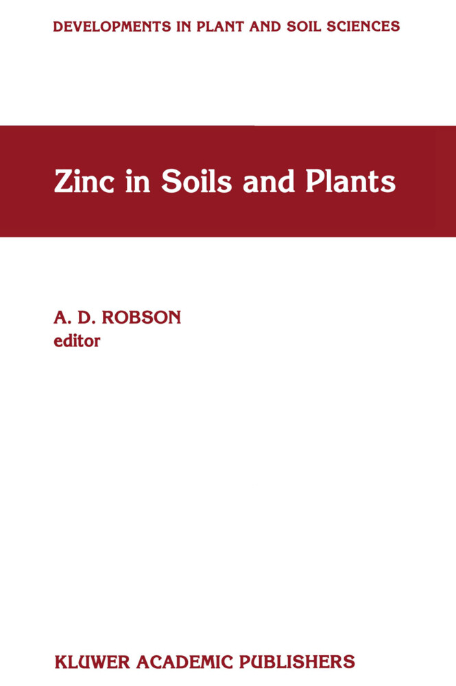 Zinc in Soils and Plants als Buch (gebunden)