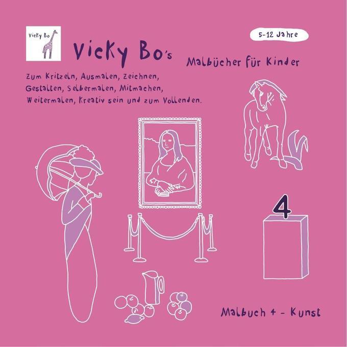 Malbuch Kunst als Buch