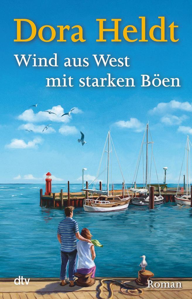 Wind aus West mit starken Böen als Buch