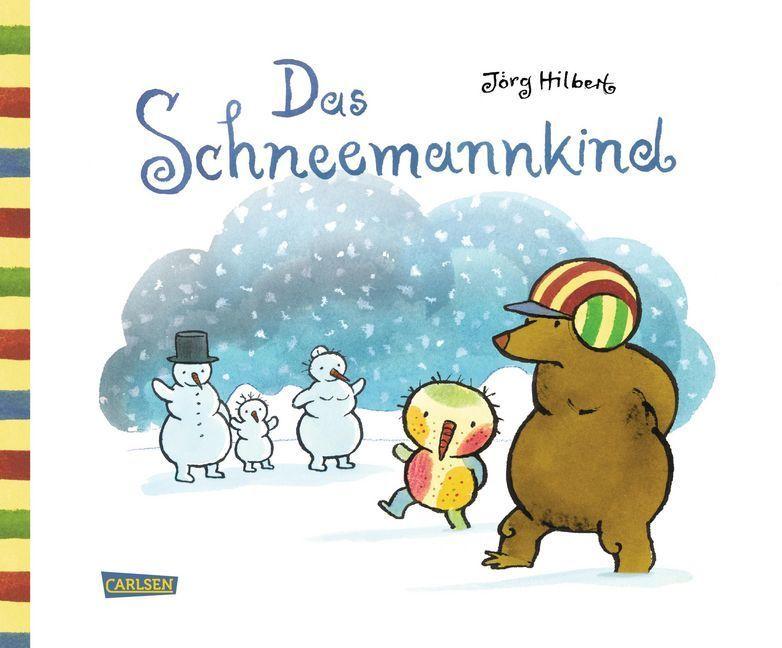 Das Schneemannkind als Buch