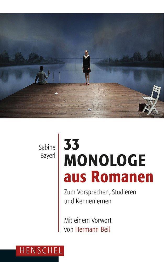 33 Monologe aus Romanen als Buch (gebunden)