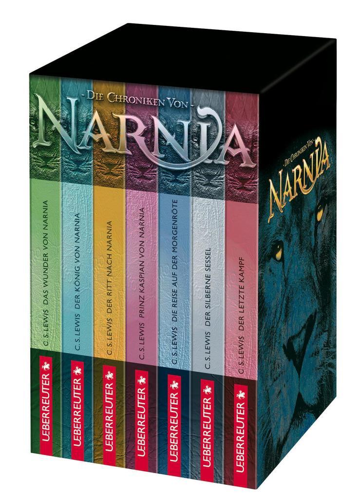 Die Chroniken von Narnia als Buch von C. S. Lewis