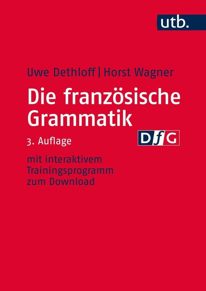Die französische Grammatik als Buch (kartoniert)