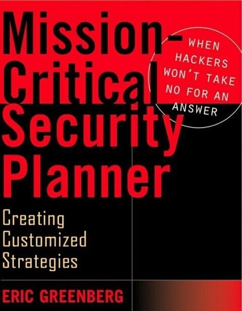 Mission-critical Security Planner als Buch