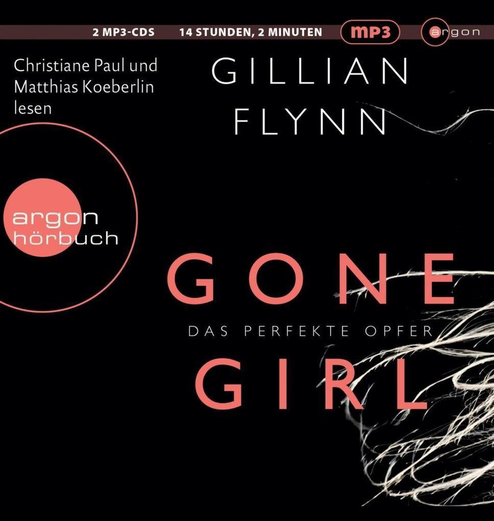 Gone Girl - Das perfekte Opfer (HB als MP3-Ausgabe) als Hörbuch