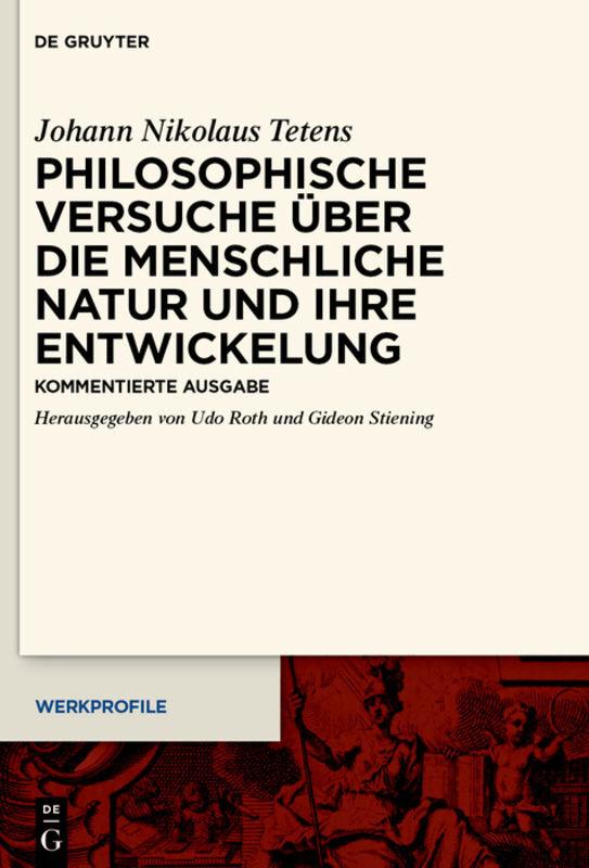 Philosophische Versuche über die menschliche Natur und ihre Entwickelung als Buch (gebunden)