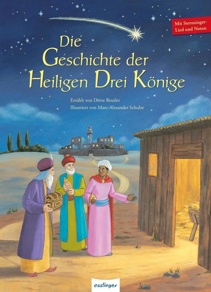Die Geschichte der Heiligen Drei Könige als Buch
