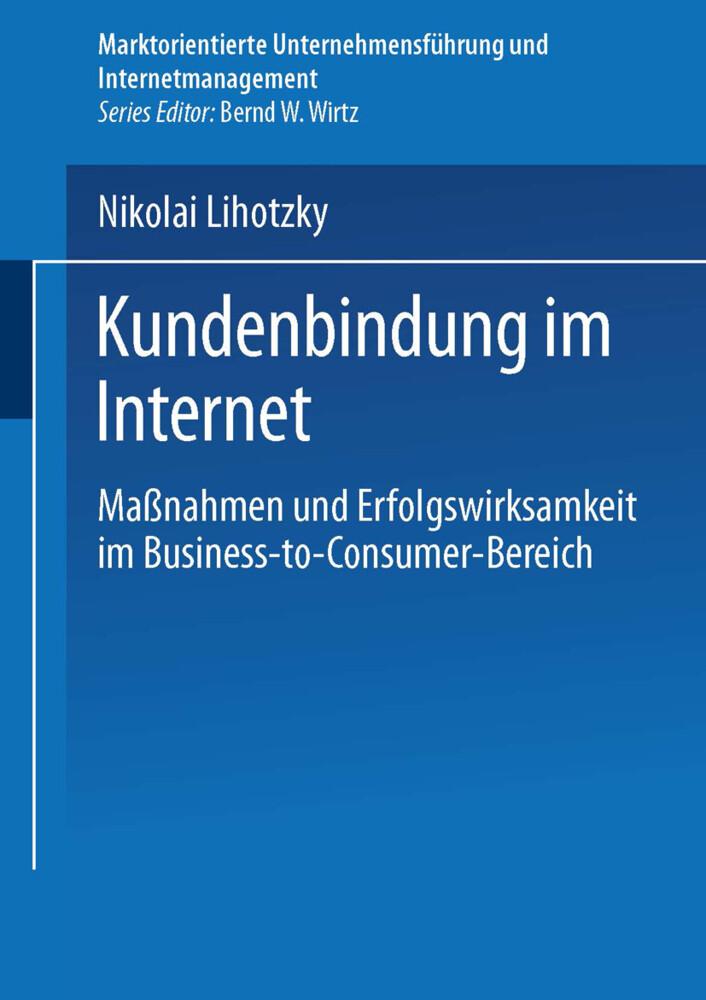 Kundenbindung im Internet als Buch