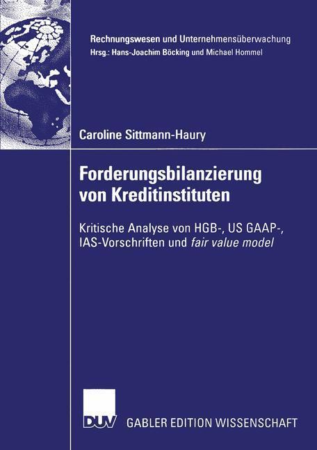 Forderungsbilanzierung von Kreditinstituten als Buch
