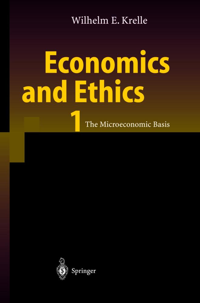 Economics and Ethics 1 als Buch