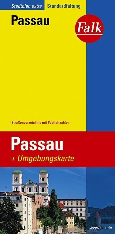 Falk Stadtplan Extra Standardfaltung Passau 1 : 17 500 als Buch